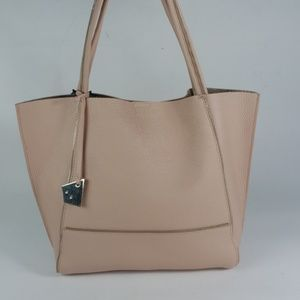 Botkier New York Soho Tote Bag Blush Gold Leather